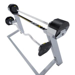 MX80 Barbell Set with stand